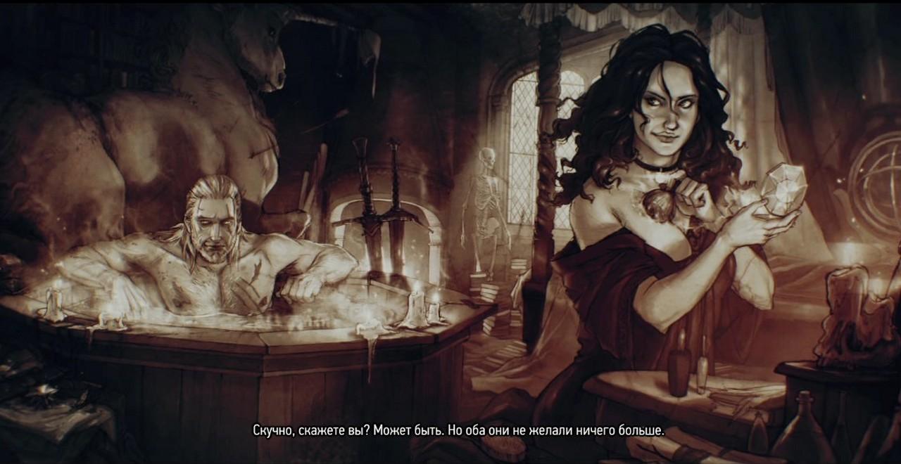 Ведьмак 3: Роман с Йеннифер - как выбрать, переспать и остаться в конце с Йен