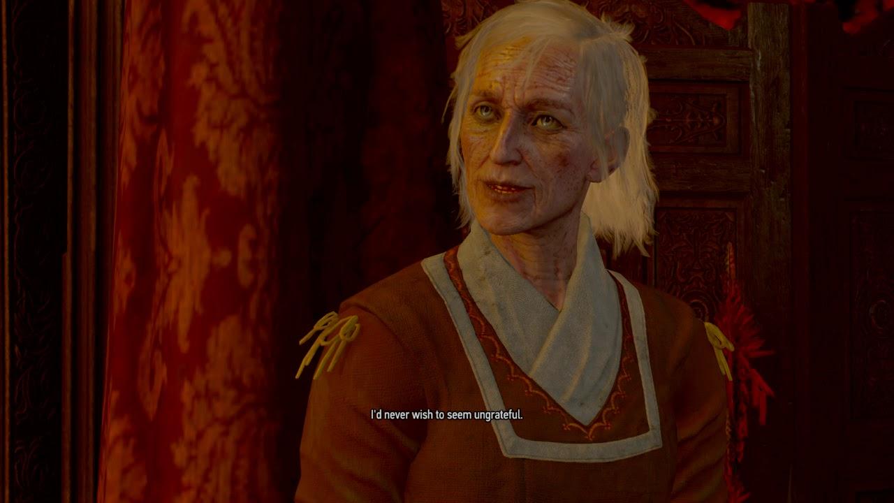 """Как расколдовать вихта Ведьмак 3 в """"Отзвук"""" (хорошая концовка)?"""