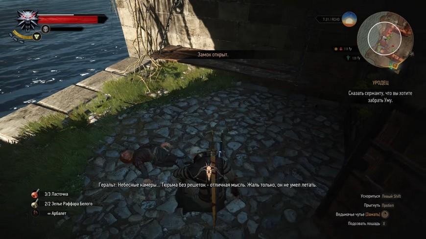Ведьмак 3 крепость Каэр Альмхульд: как попасть вниз и найти все сокровища