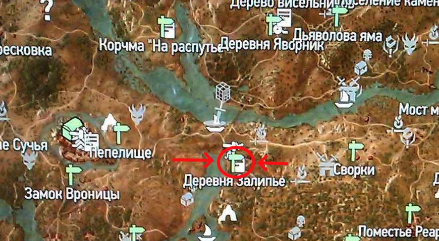 Где находится деревня Залипье в Ведьмаке 3: местонахождение, персонажи, квесты