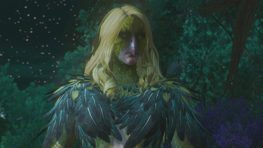 Ведьмак 3: Вивиена - как спасти от проклятья, хорошая концовка