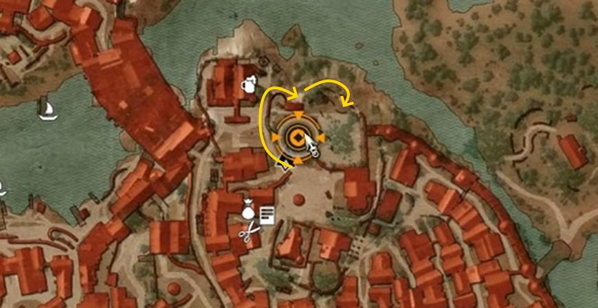 """Ведьмак 3: Как попасть на виллу вар Аттре в """"Список блудниц"""""""