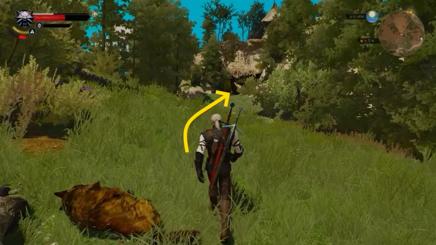Ведьмак 3: Как расколдовать дерево Дафну (4 варианта)