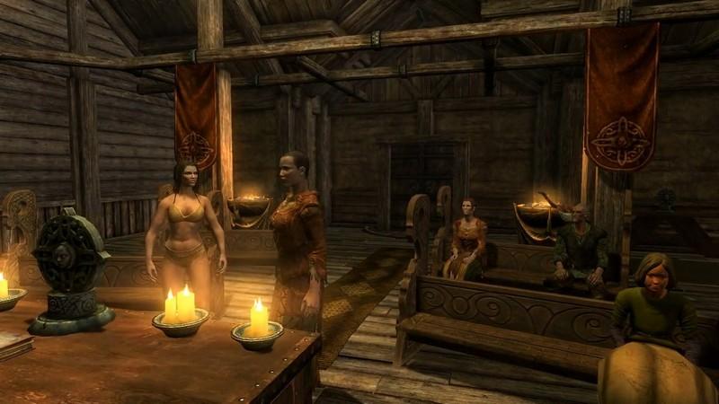 Лидия в Skyrim: где найти, как жениться и переодеть