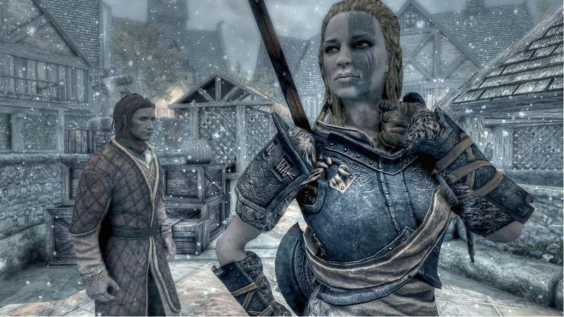 Мьол Львица в Skyrim, как жена и компаньон (все особенности)