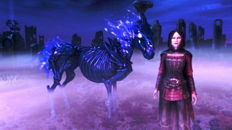 Как позвать лошадь в Skyrim, призвать заклинанием и воскресить по ID
