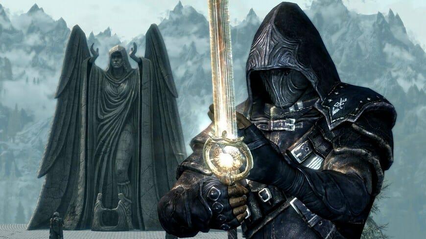 Меч Сияние рассвета в Skyrim: где взять, ID код, уникальные способности