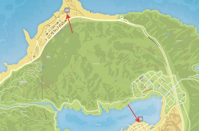 Где находится эвакуатор в ГТА 5: места на карте, особенности и секреты