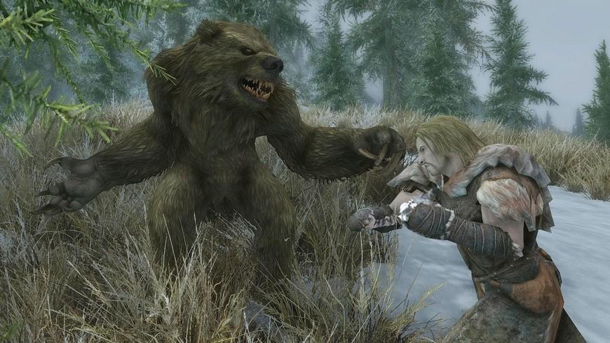 Как стать вервольфом (оборотнем) в Skyrim: как превратиться, минусы и плюсы превращения