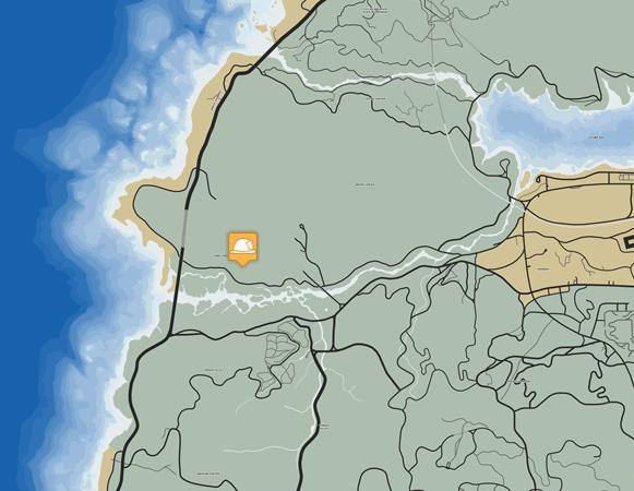 Где находится все пожарные станции в ГТА 5 (расположение на карте)
