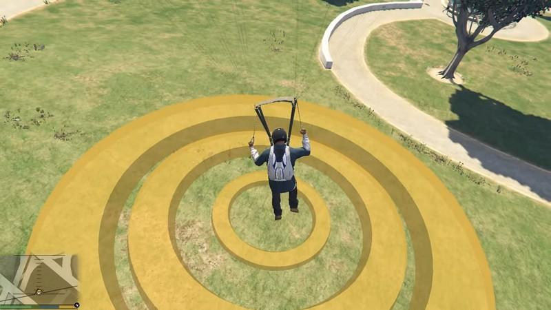 Как раскрыть парашют в ГТА 5, правильно надеть и вовремя активировать