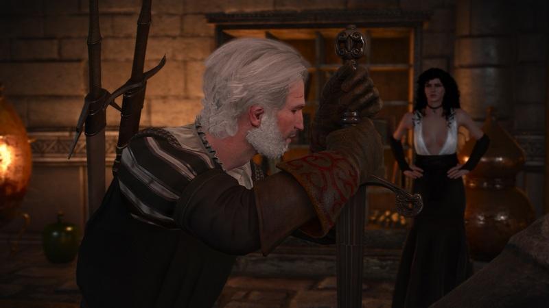 """Ведьмак 3 """"Король умер, да здравствует король"""": дополнительный опыт и постельная сцена с Йен"""
