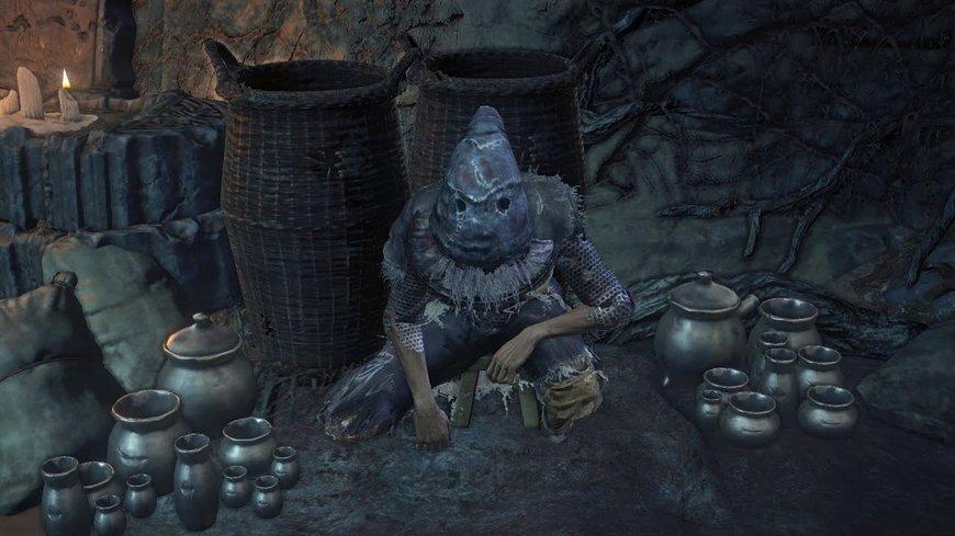 Лоскутик в Дарк соулс 3: как начать квест, где найти в Храме глубин