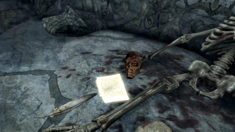 Деревянная маска в Skyrim: где найти и как использовать