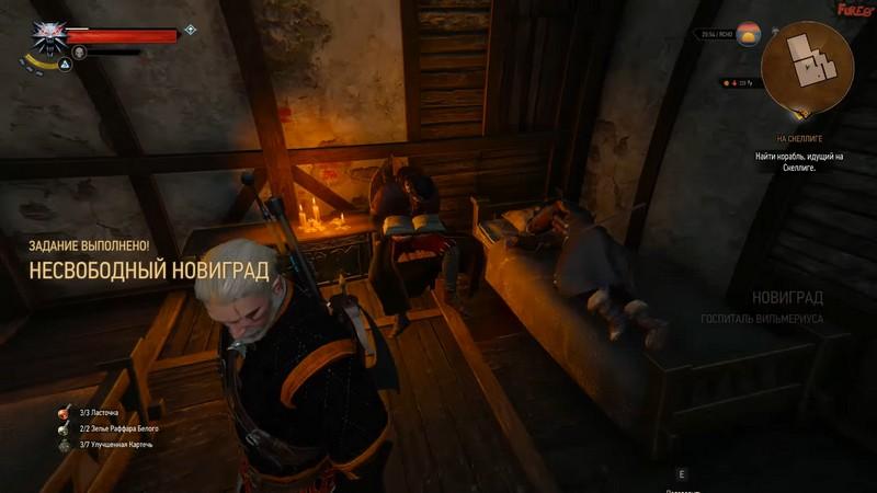"""Квест """"Несвободный Новиград 2"""" в Ведьмаке 3: прохождение и последствия выбора"""