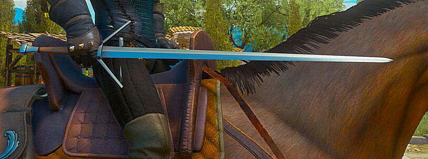 Ведьмак 3: Серебряные и стальные мечи Школы Змеи (отравленные и обычные варианты)