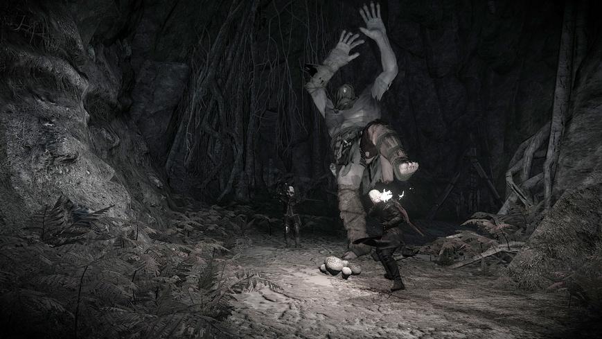 Циклоп Старый Грот в Ведьмаке 3: убить его или нет