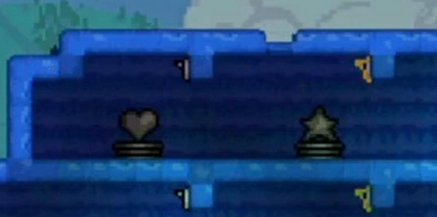 Террария: Статуя сердца - крафт, советы по использованию, характеристики