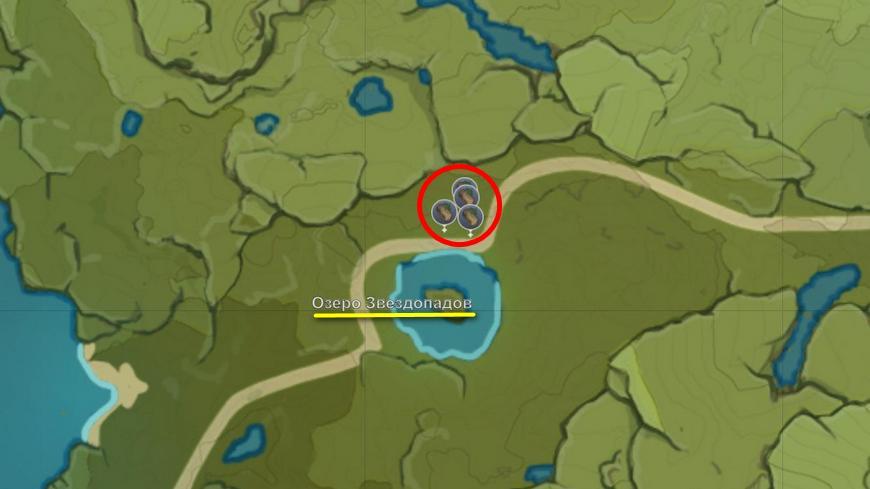 Где найти ароматный кедр в Геншин импакт (Список всех мест)
