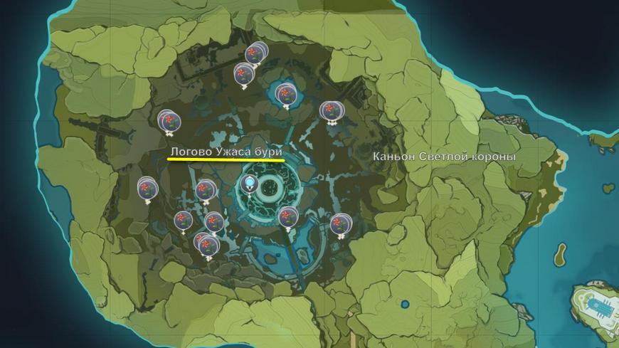Ветряная астра в Геншин импакт: где найти на карте и купить, для чего нужна