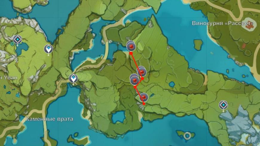 Где найти заоблачный перчик в Genshin impact (все способы и места на карте)